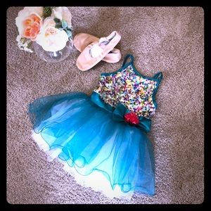 Other - Turquoise Dance Costume